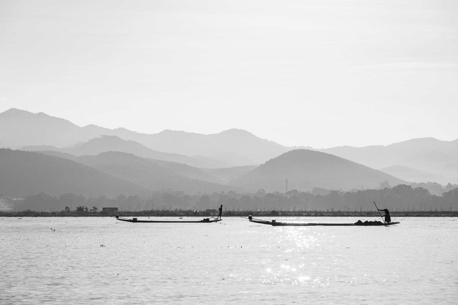 Christian Meixner Fotografie, Fotograf Zürich, Myanmar, Inle Lake, Fischer, Reisen, Reisefotografie